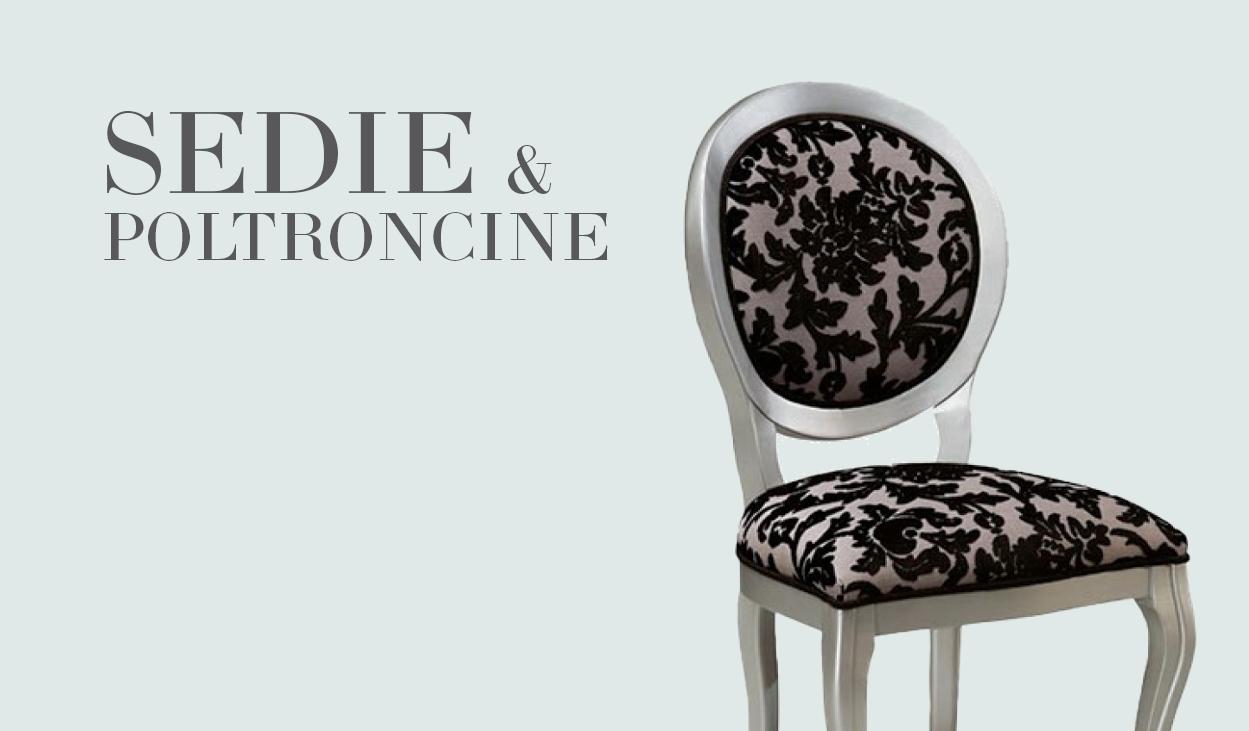 Arredamenti classici Sedie e poltroncine classiche e in stile