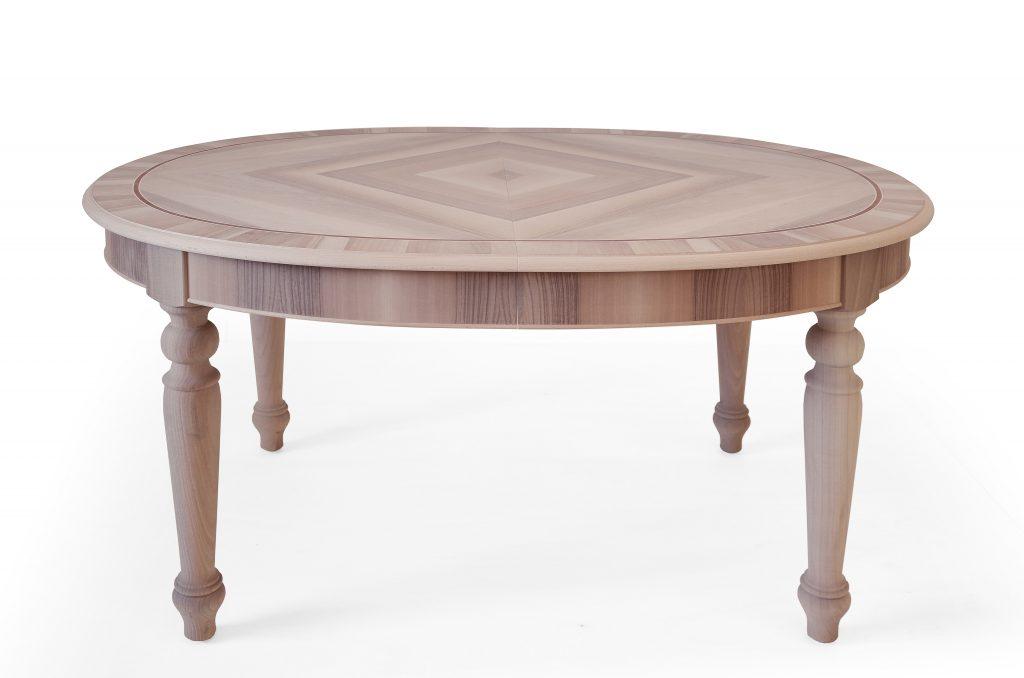 Arredamento Classico in Stile mobili artigianali tavolo allungabile legno