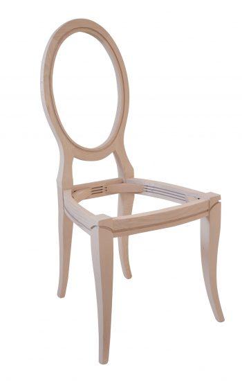 Arredamento Classico in Stile mobili artigianali sedia legno fusto grezzo