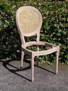 Arredamento Classico e in Stile sedia Imbottita legno artigianale